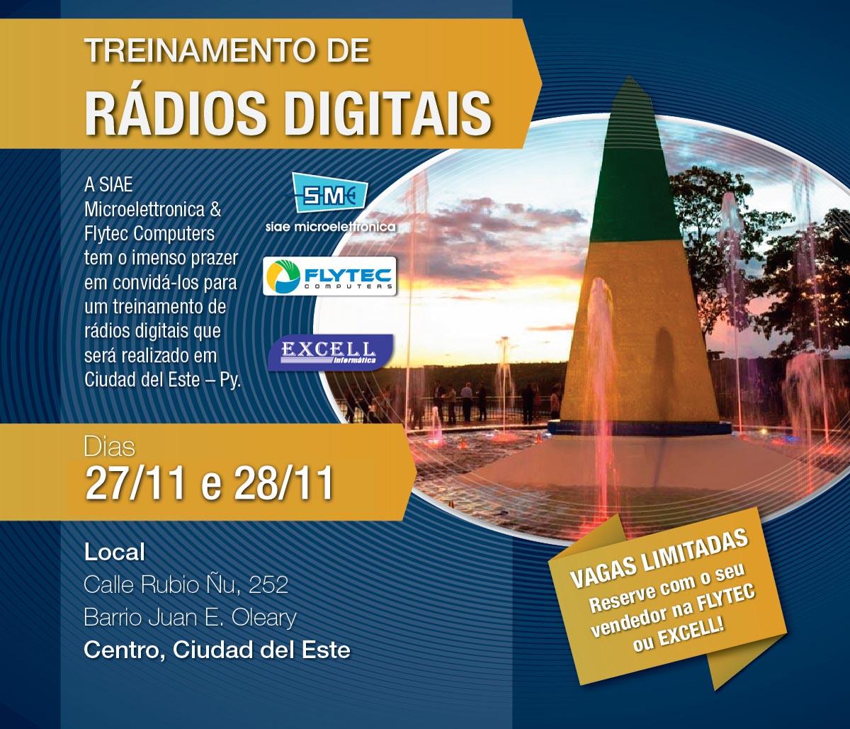 Treinamento Siae Rádios Digitais - 06 e 07/11