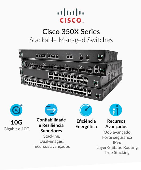 Switches Cisco 350X Series
