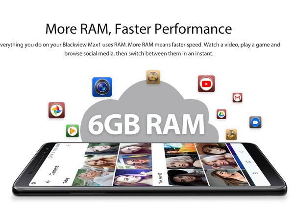More RAM, faster performance