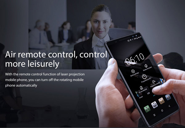 Air remote control