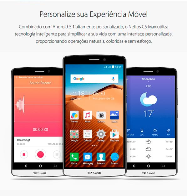 Personalize sua experiência móvel