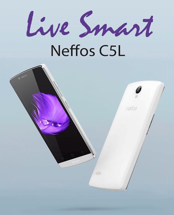 Apresentação Neffos C5L