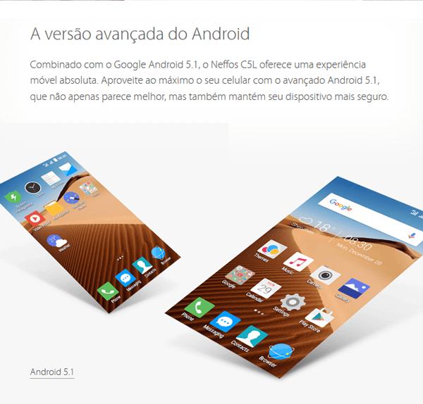 A versão avançada do Android