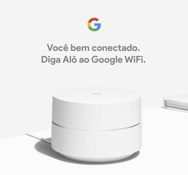 Roteador Google WiFi - apresentação