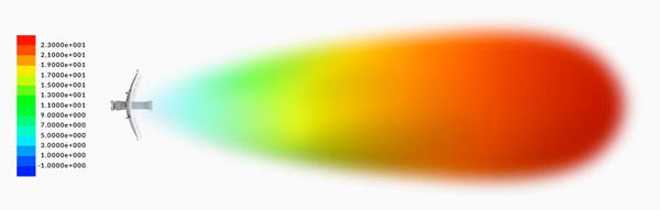 Antena direcional de alto ganho