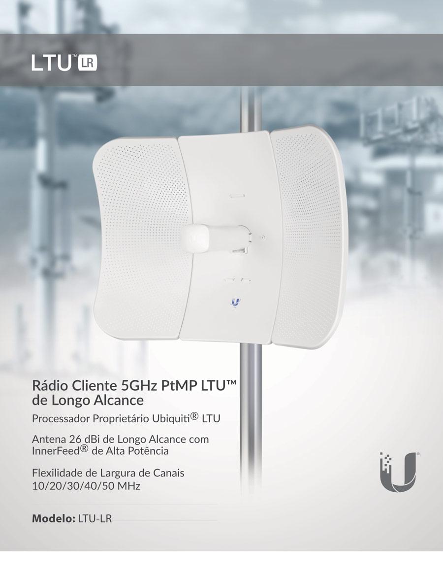 Rádio cliente Ubiquiti LTU LR