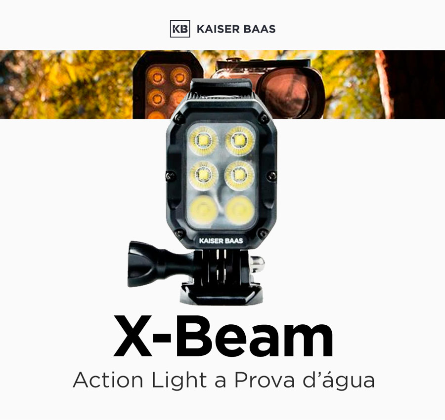 Kaiser Baas X-Beam - Action Light Impermeável
