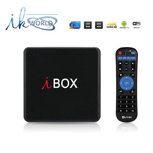 RECEPTOR TV BOX 4K ULTRA HD BLUETOOTH WIFI INTERNET 2.4GHZ