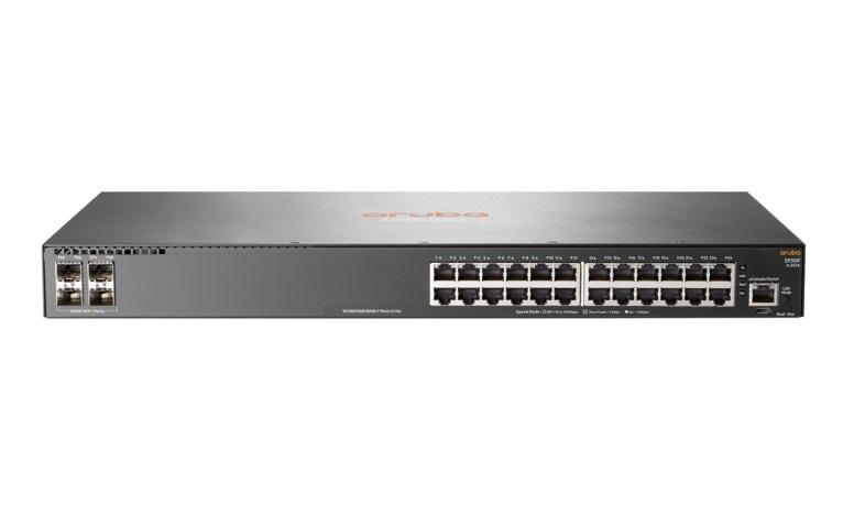 SWITCH HP 24P 2930F 24G (JL253A) 24P 10/100/1000+ 4P 10G SFP