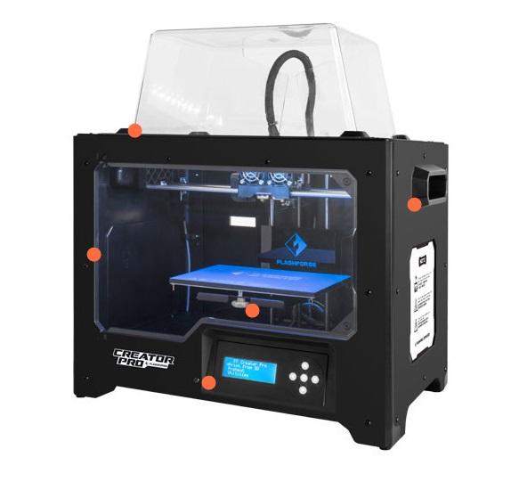 IMPRESSORA 3D FLASHFORGE NEW CREATOR PRO BIVOLT