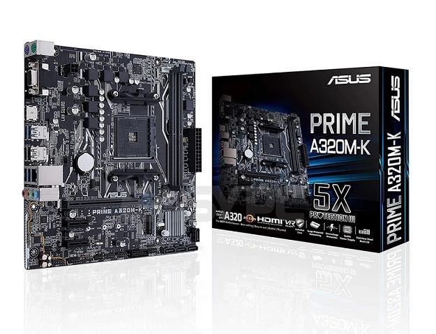MB ASUS (AM4) A320M-K PRIME VGA/HDMI/ATX/DDR4 CPU RYZEN