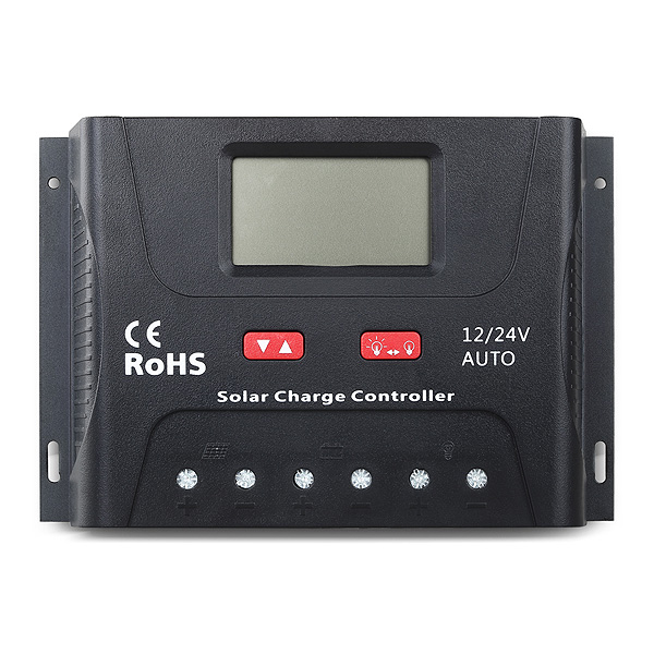 SOLAR PWM 30A CONTROLADOR 12V/24V BLUETOOTH SR-HP2430-B