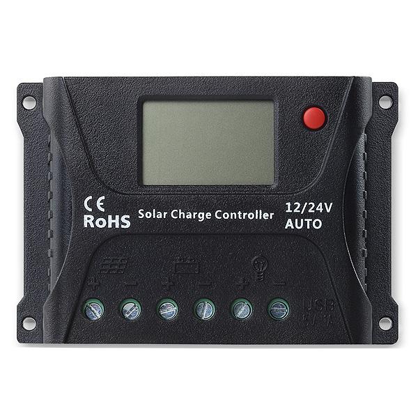 SOLAR PWM 10A CONTROLADOR 12V/24V SR-HP2410