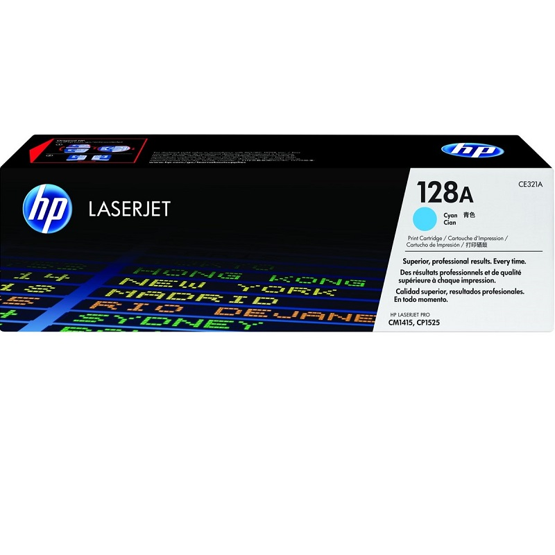 TONER HP 321A CYAN 128A (LASER 1525 - 1415 COLOR)