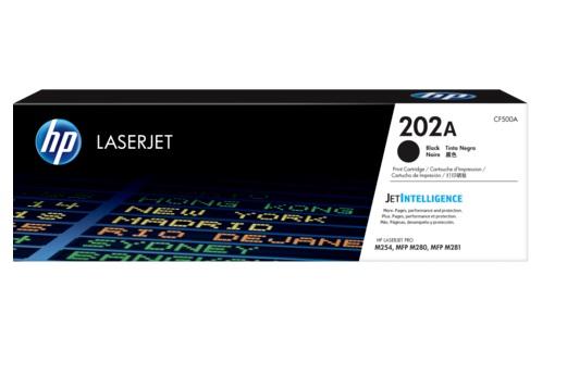 TONER HP CF500A (202A) PRETO (LASER M281FDW- M254DW)