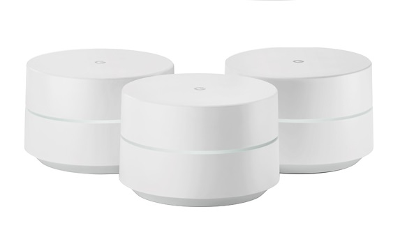 GOOGLE WIFI 3-PACK ROUTER AC1200 DUAL BAND NLS-1304-25