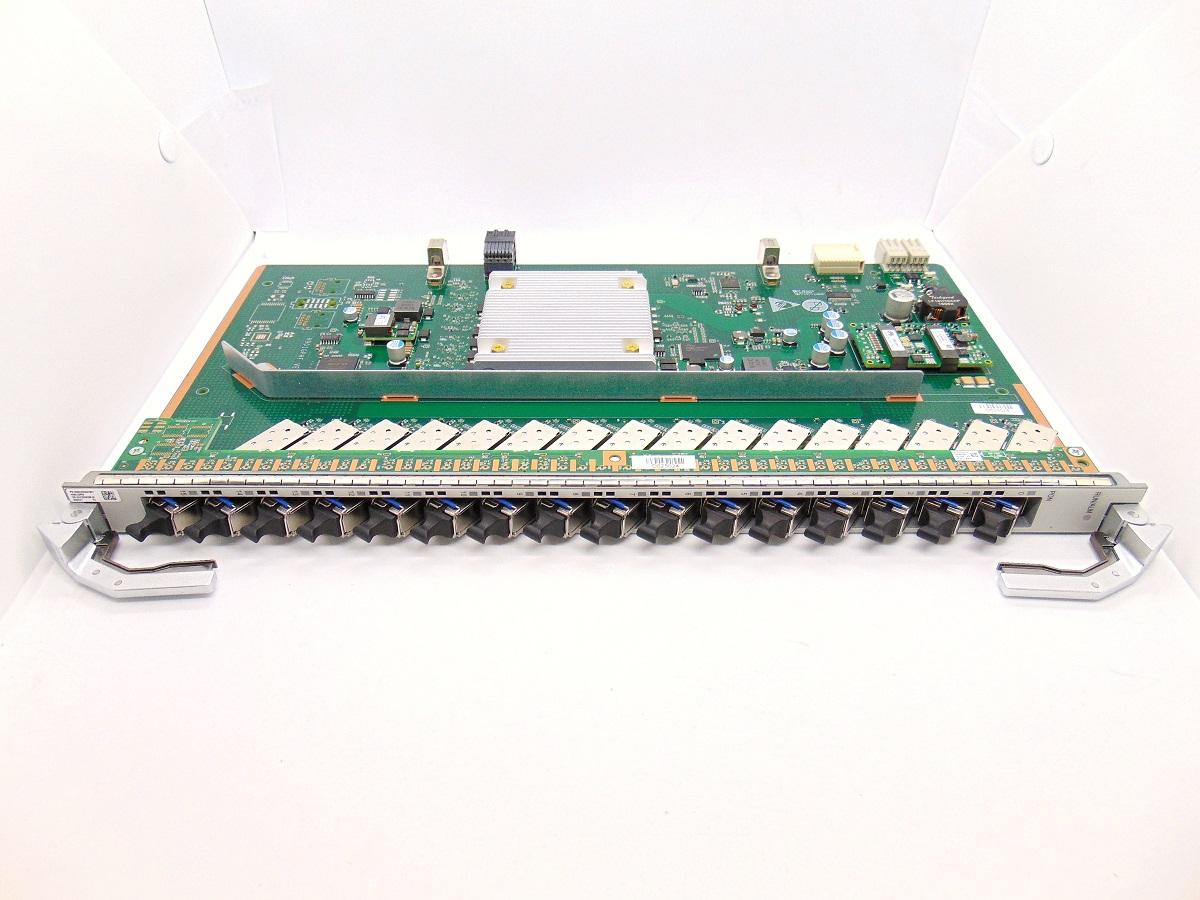 F. OLT HUAWEI PLACA MA5800 GPHF 16 GPON C++