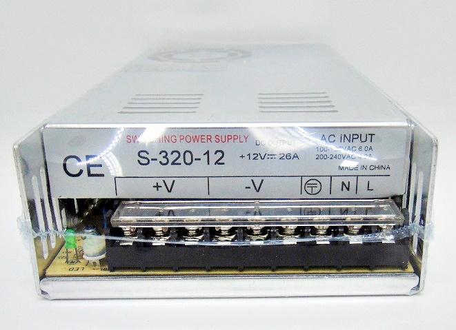 FONTE CENTRALIZADORA 12V 25A 320W S-320-12