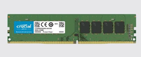 CRUCIAL MEMORIA 16GB DDR4 2666MHZ UDIMM CT16G4DFRA266
