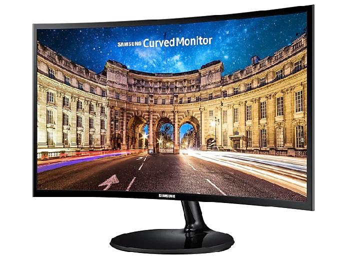 """MON. 24"""" LED SAMSUNG CURVO LC24F390FHL VGA HDMI FULL HD"""