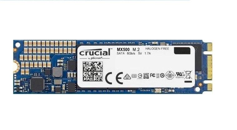 CRUCIAL HD SSD 500GB MX500 M.2 CT500MX500SSD4 INTERNO