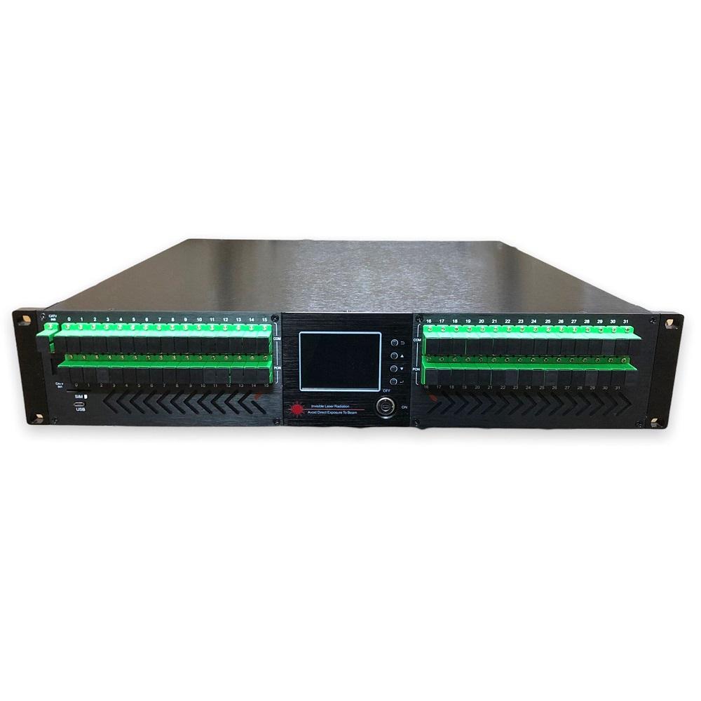 IPTV EDFA 32 PORTAS CATV 50EY32*21+WDM SC/APC-SC/APC 220V