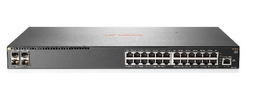 SWITCH HP ARUBA 24P 2540 24G (JL354A) 24P +4P 10G SFP+