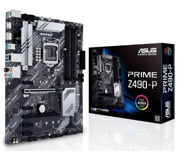 MB ASUS (1200) Z490-P PRIME DDR4 ATX CPU INTEL 10ª GEN