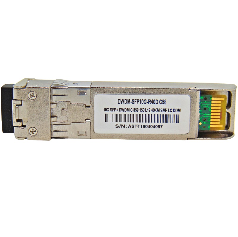 F. M SFP+ 10G 40KM DWDM-SFP10G-1531.12 C58 C/CISCO MUX-DEMUX