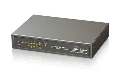 ROUTER IP-2000 VPN SAFESTREAM 1WAN 3LAN 10/100MBPS AIR LIVE