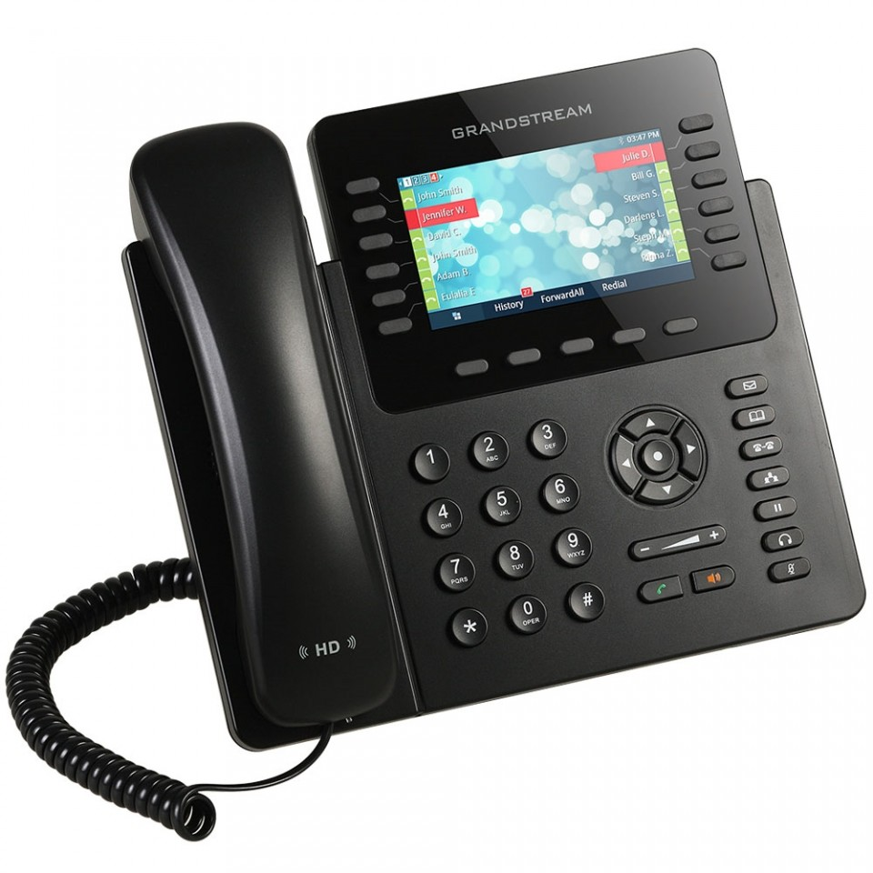 GRANDSTREAM GXP 2170 IP PHONE 12 LINHAS EMPRESARIAL (POE)