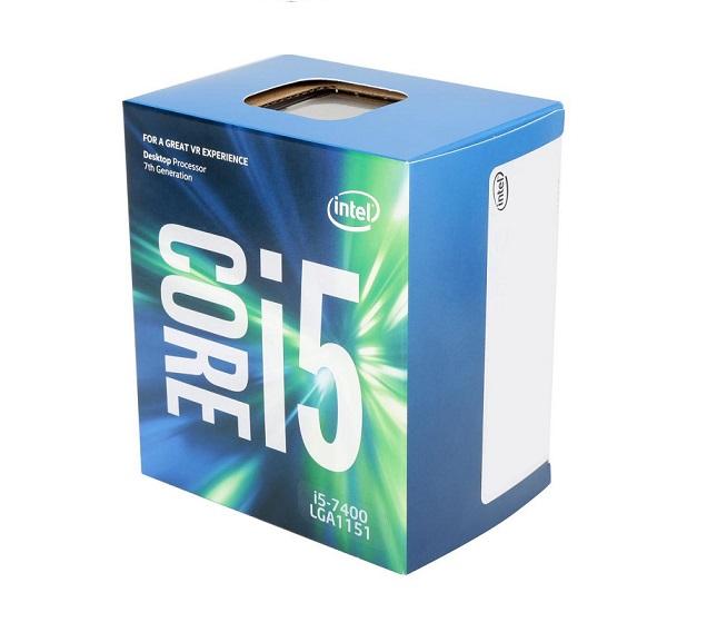 CPU INTEL CORE I5-7400 3.0GHZ 6MB LGA1151 7ª GERAÇÃO COOLER