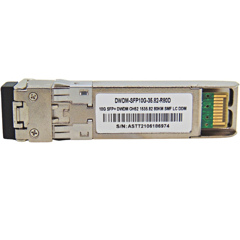 F. M SFP+ 10G 80KM DWDM-SFP10G-35.82 C52 C/CISCO MUX-DEMUX