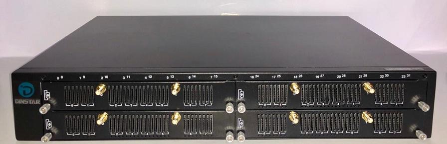 GATEWAY GOIP-32 UC2000-VG-32W-M-V131 GSM WCDMA DINSTAR