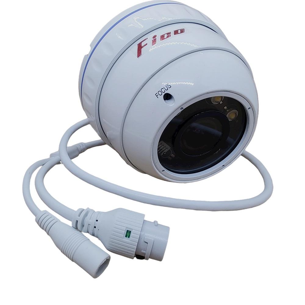 FICO CAMERA IP DOME FC-IP6360HD7-F-SL 5.0MP POE LENTE 2.8-12