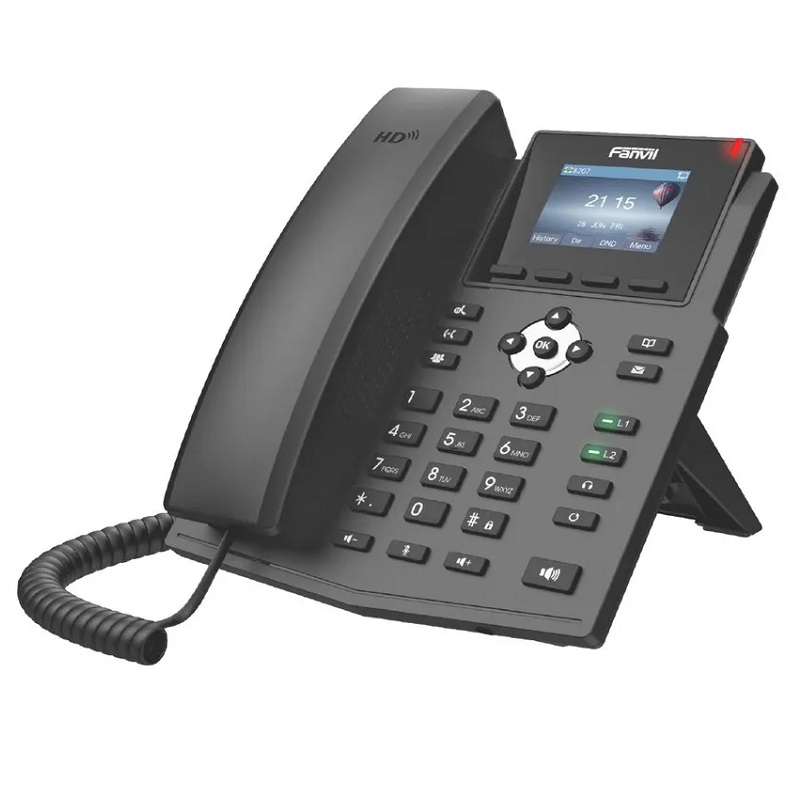 FANVIL TELEFONE X3SP(V2) IP 2 LINHAS SIP POE LCD COLOR