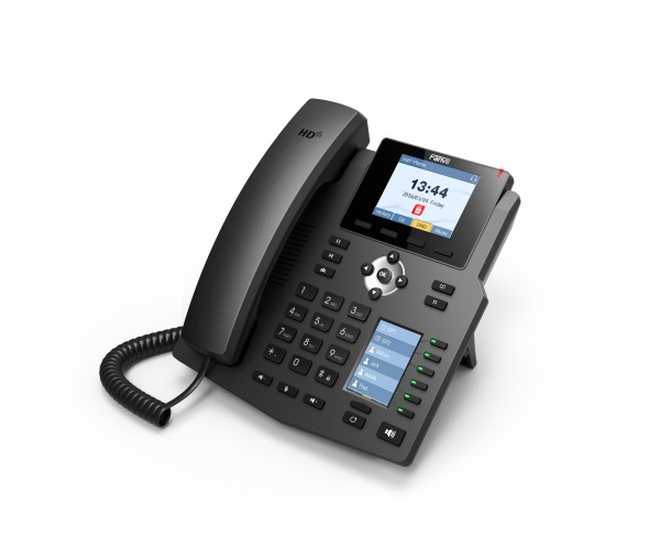 FANVIL TELEFONE X4G IP 4 LINHAS EMPRESARIAL (POE) GIGABIT