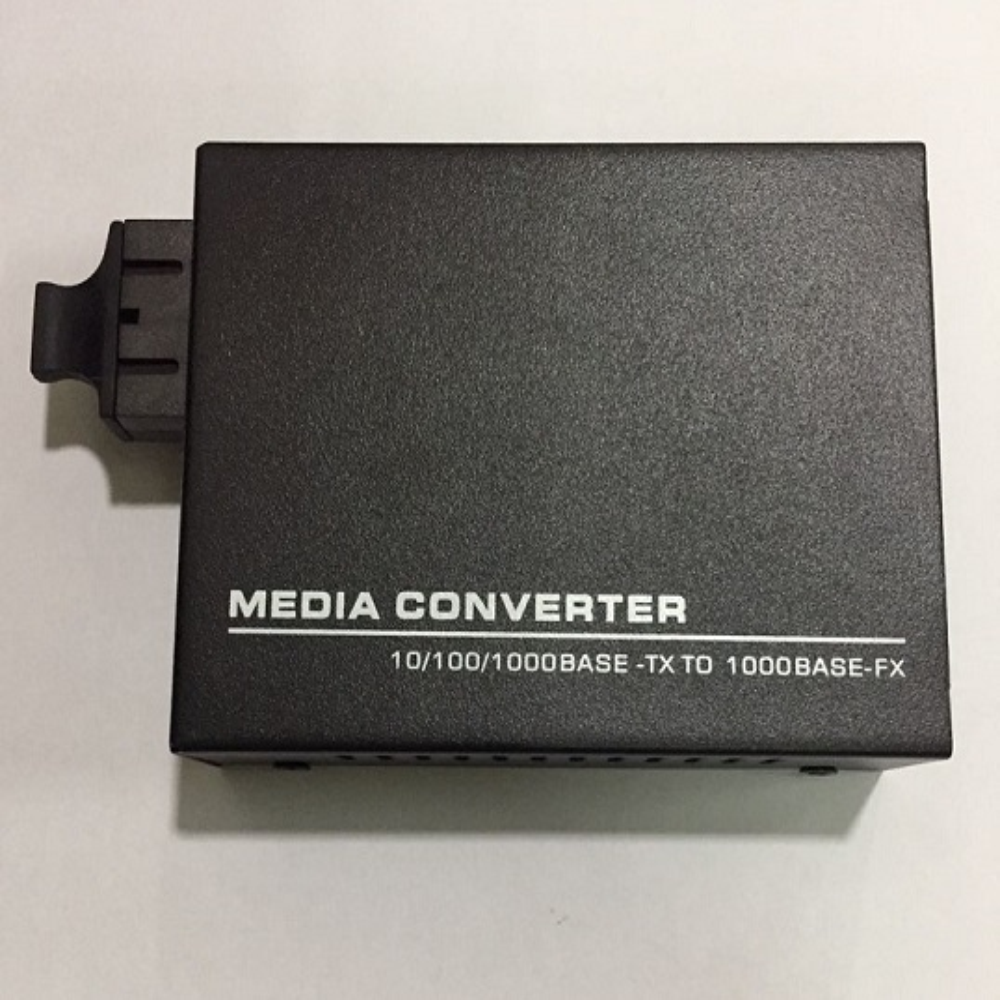 F. MEDIA CONV. 40KM 10/100/1000M-DF-40KM DUAL FIBER HDV