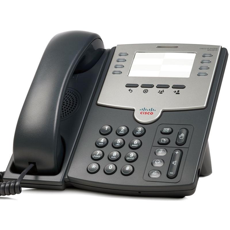 CISCO VOIP SPA501-G 08 LINHAS IP PHONE POE