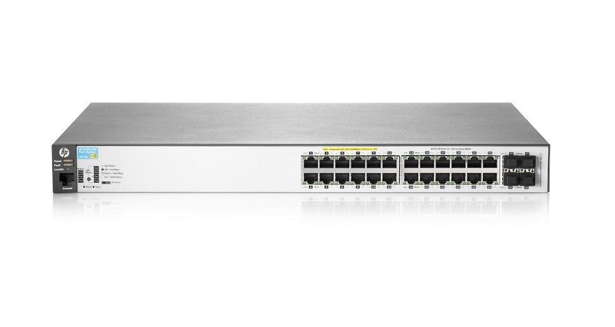 SWITCH HP ARUBA 24P 2530-24G-POE+(J9773A)24P POE+4SFP