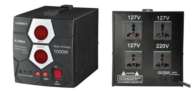 ESTABILIZADOR SATELLITE A-VR41 1000W 110/220