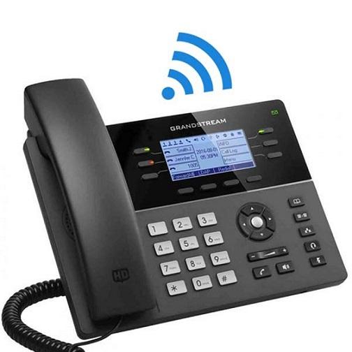 GRANDSTREAM GXP 1760W IP PHONE 6 LINHAS 2*10/100 POE HD WIFI