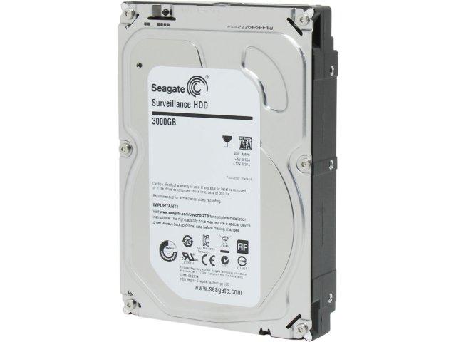 HD 3TB SEAGATE SURVEILLANCE SATA6 5900RPM ST3000VX009