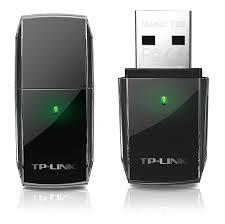 TP-LINK ARCHER T2U AC600  DUAL BAND WIFI USB ADAPTER