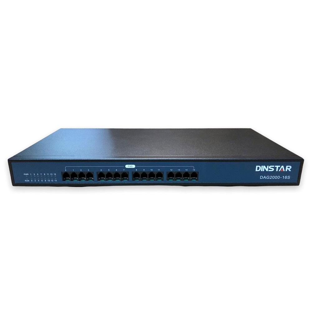 GATEWAY GOIP-16 DAG2000-16S-V421 16 FXS DINSTAR