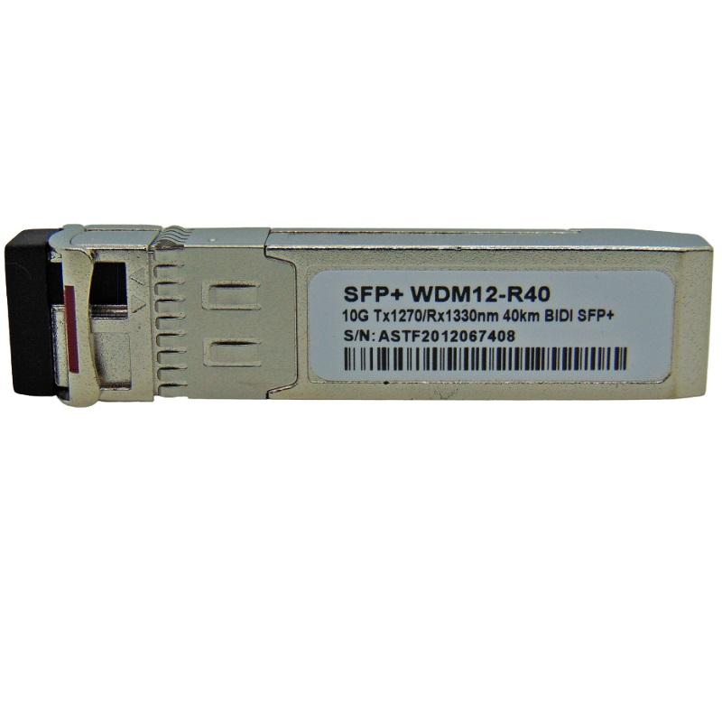 F. M SFP+ 10G 40KM LC BIDI TX1270-RX1330NM WDM12-R40