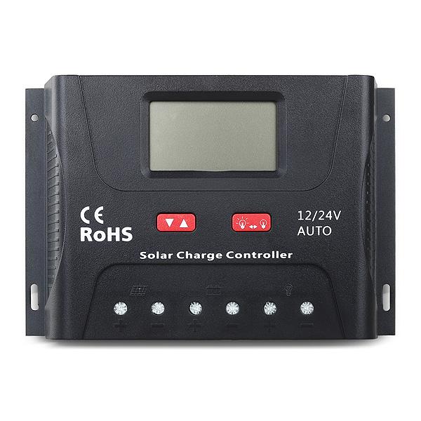 SOLAR PWM 30A CONTROLADOR 12V/24V/36V/48V SR-HP4830-B