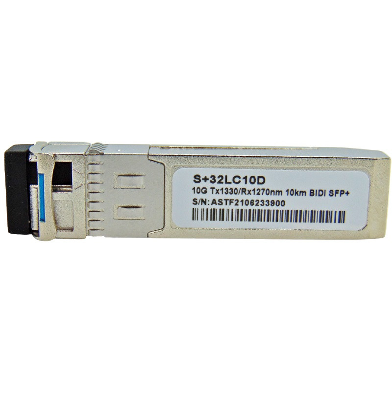 F. M SFP+ 10G 10KM LC BIDI DDM TX1330-RX1270NM S+32LC10D
