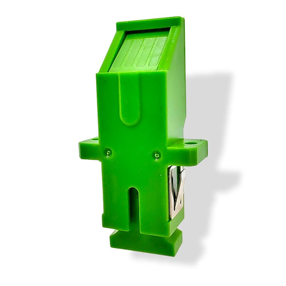 F. ACOPLADOR ADAPTADOR SC-APC SIMPLEX PUSH VERDE JZ-7002-3W