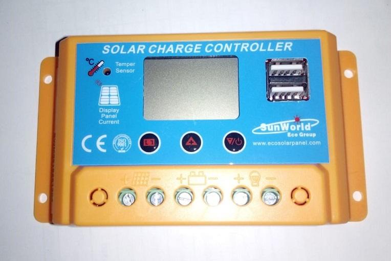 SOLAR PWM 20A CONTROLADOR 12V/24V SWC20A SUNWORLD